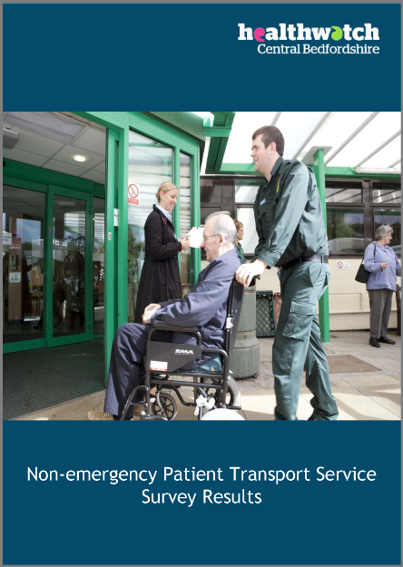 Non-emergency Patient Transport Service (NEPTS) Survey