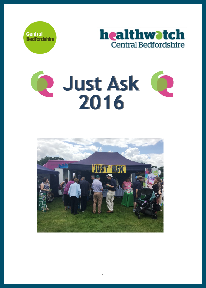 JUST ASK events 2016