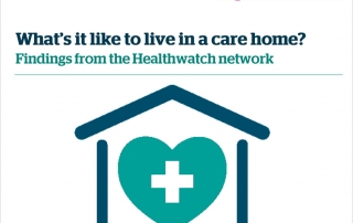Living in a care home