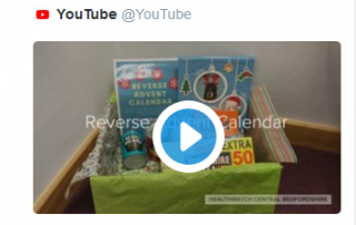 Reverse Advent Calendar You Tube capture