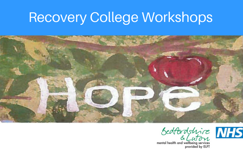 Recovery College workshops