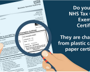 NHS charge exemption card