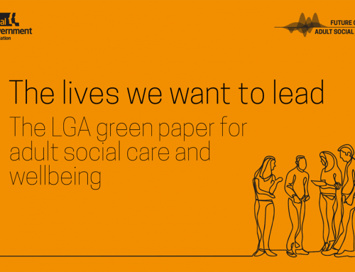 Local Government Association publishes green paper for adult social care