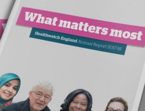 Healthwatch England Annual Report 2017-18
