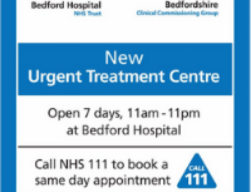 New Urgent Treatment Centre at Bedford Hospital