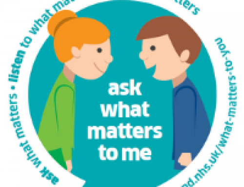 Will you join the 'What Matters to You' conversation?