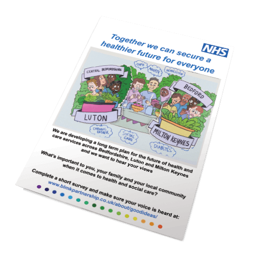 BLMKfuture NHS poster