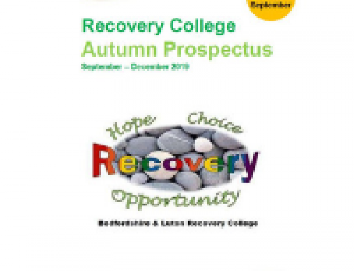Bedfordshire & Luton Recovery College Autumn Prospectus