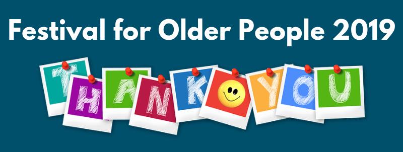 Festival for Older People 2019 - top banner