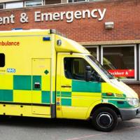 Ambulance at A&E