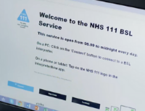 NHS 111 British Sign Language Service