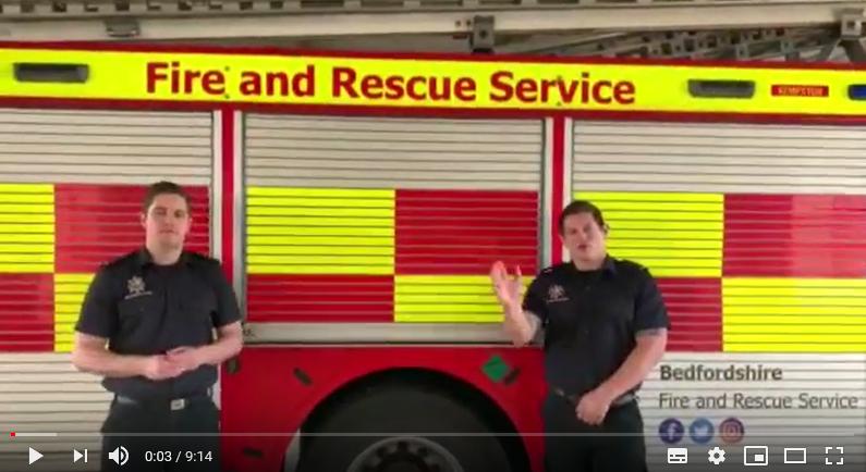 Bedfordshire Fire & Rescue Service video capture