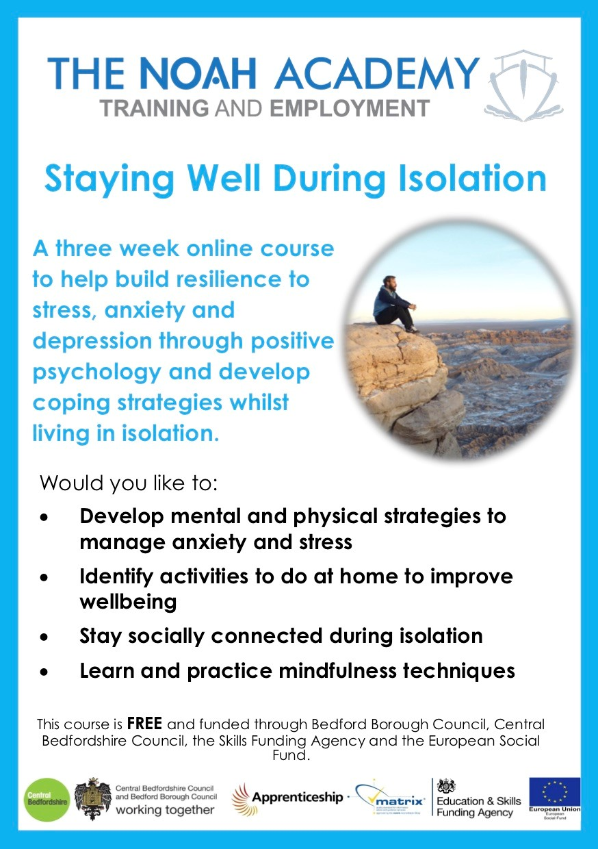 Noah Academy online course during self isolation