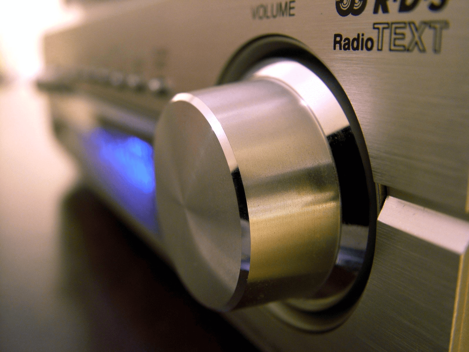 image of a radio