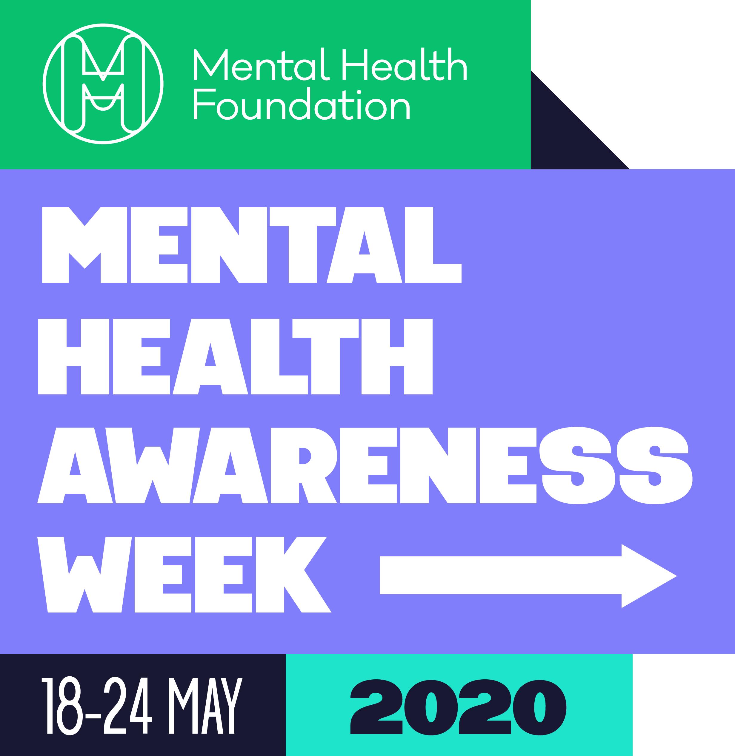 Mental Health Awareness Week logo 2020