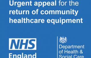 Urgent appeal for return of community healthcare equipment