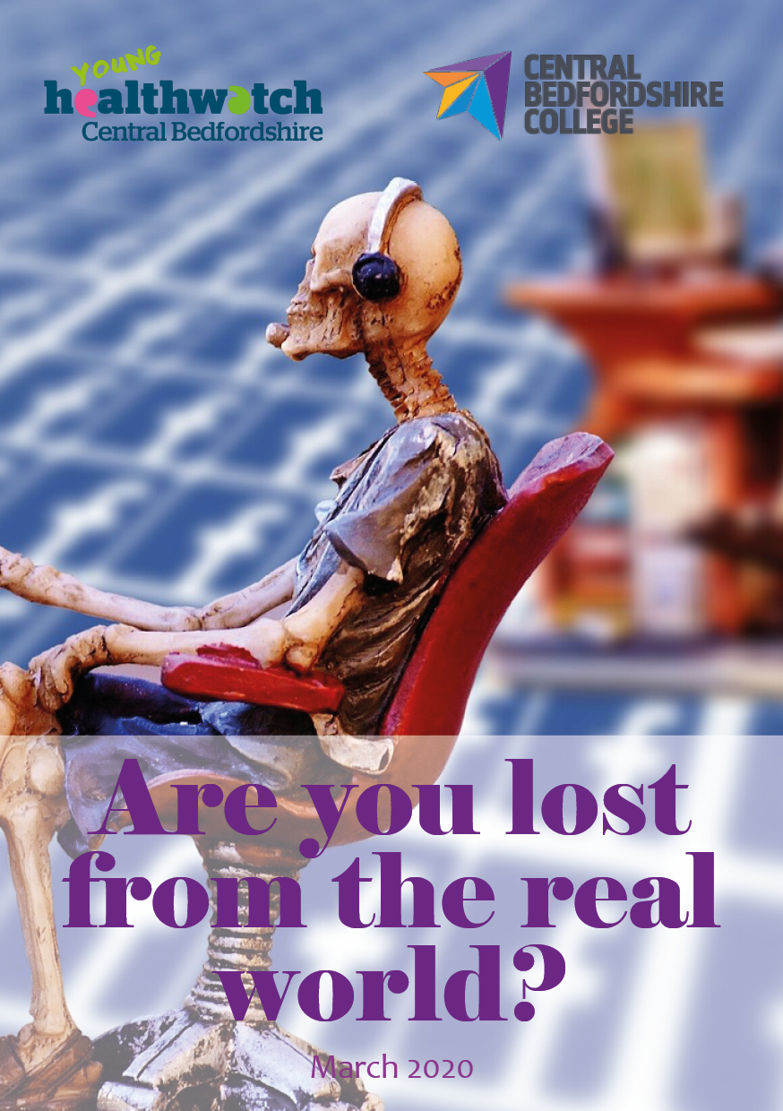 Are you lost from the real world - report front page