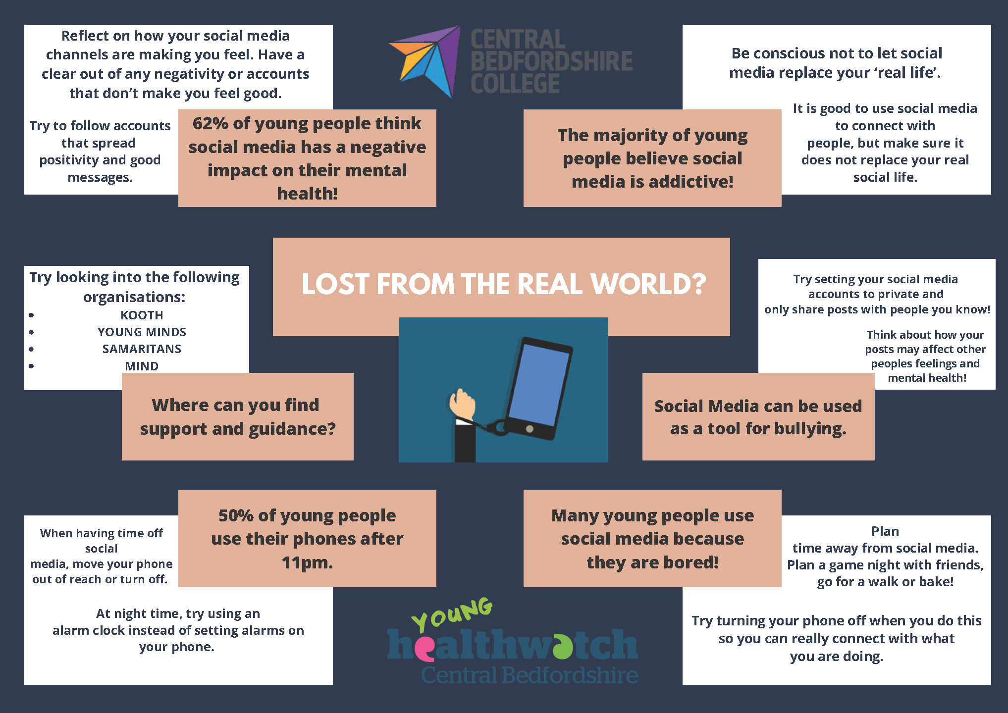 Social Media project with Dunstable College