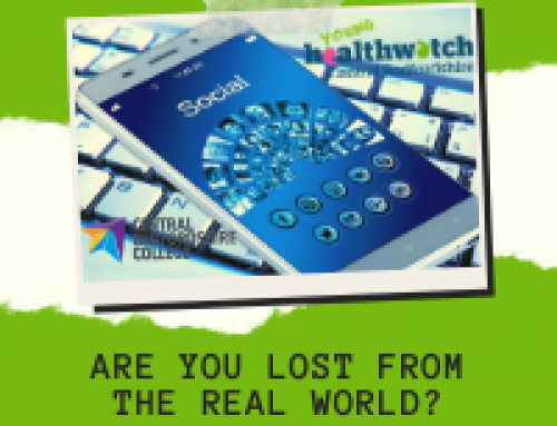 Young Healthwatch and Central Beds College – Are you lost from the real world?