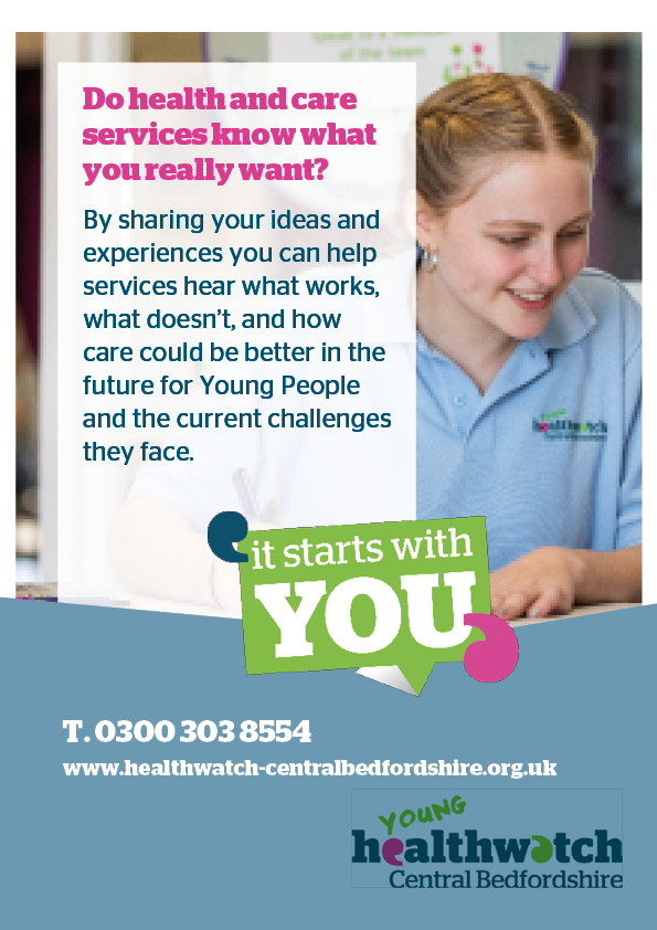 Young Healthwatch Poster
