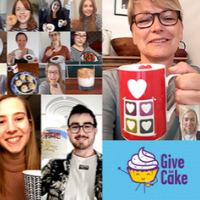 Give And Cake virtual catch-up for YoungMinds