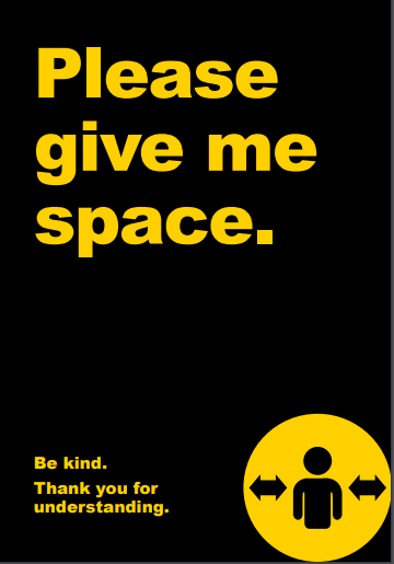 Please give me space
