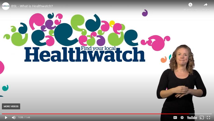Healthwatch video capture