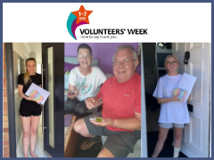 Volunteers and gifts