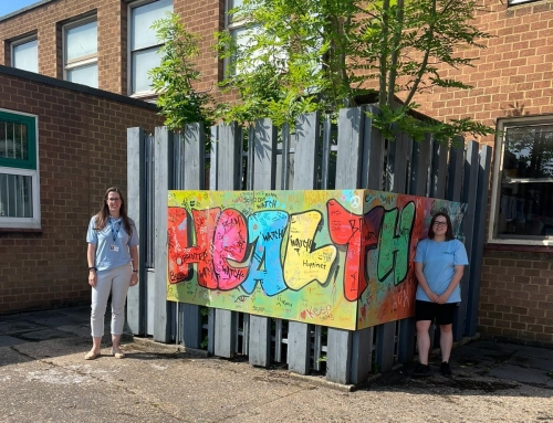 Young Healthwatch Mural Finds a Home
