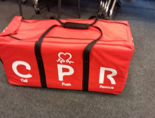 YHW give CPR Training to young people